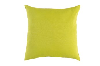 Outdoor Accent Pillow-Solid Lime 16X16