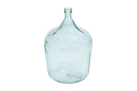 22 Inch Round Clear Glass Jug