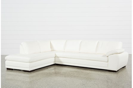 Vaughn II Alabaster 2 Piece Sectional W/Laf Chaise