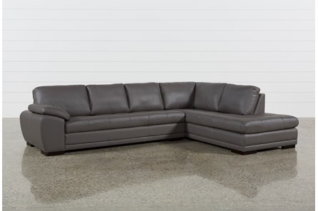 Vaughn II Granite 2 Piece Sectional W/Raf Chaise