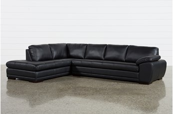 Vaughn II Onyx 2 Piece Sectional W/Laf Chaise