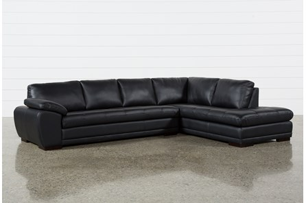 Vaughn II Onyx 2 Piece Sectional W/Raf Chaise