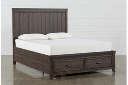 Hendricks California King Platform Bed With Storage