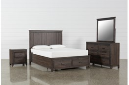Hendricks 4 Piece Queen Bedroom Set
