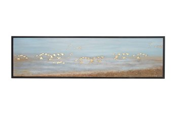 Picture-Birds Over Water 71X19
