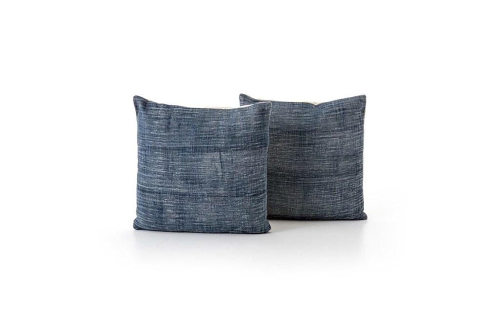 Accent Pillow-Faded Grey Haze 20X20 Set Of 2