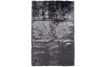 60X96 Rug-Burnout Sheen Shag Slate
