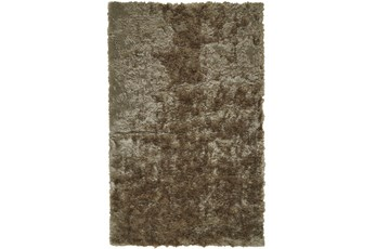 84X120 Rug-Burnout Sheen Shag Taupe
