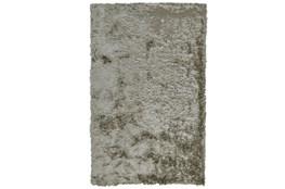 30X72 Rug-Burnout Sheen Shag Silver