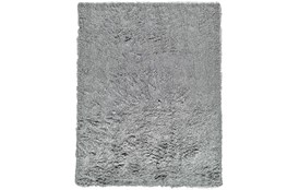 84X120 Rug-Boho Shag Grey