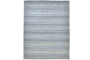 87X111 Rug-Sonoma Banded Blue