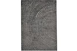 62X86 Rug-Soho Circles Charcoal