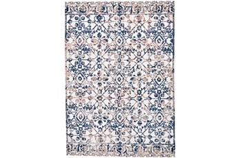 62X86 Rug-Crown Traditional Grey