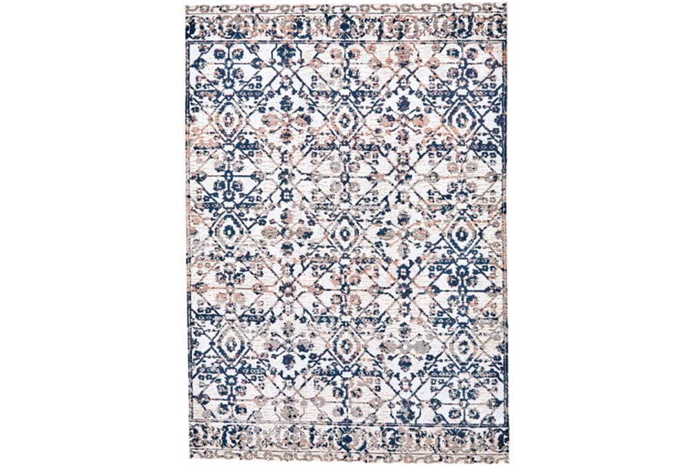 79X114 Rug-Crown Traditional Grey