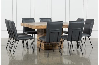 Tahoe II 9 Piece 58 Inch Square Dining Set With Kyle Side Chairs