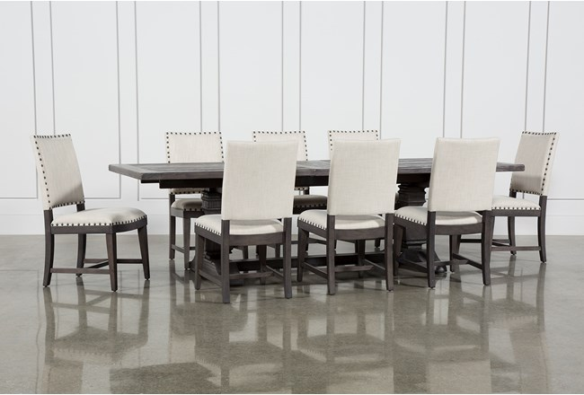 Norwood 9 Piece Rectangular Extension Dining Set With Uph Side Chairs - 360