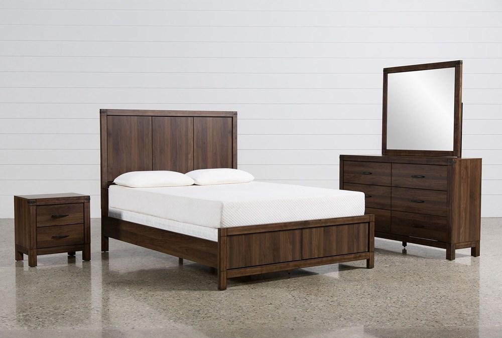 Willow Creek California King 4 Piece Bedroom Set