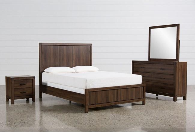 Willow Creek Eastern King 4 Piece Bedroom Set - 360