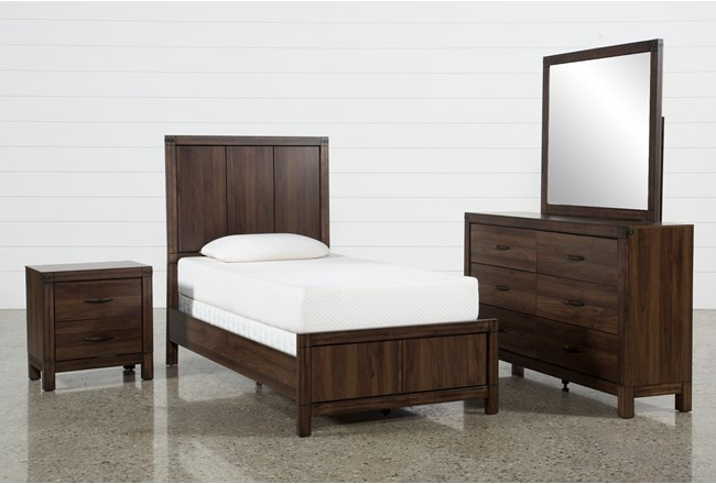 Willow Creek Twin 4 Piece Bedroom Set - 360