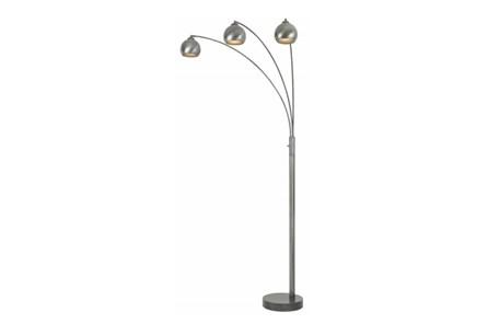 Floor Lamp-3 Bulb Arc Shade
