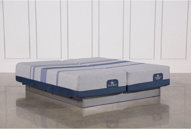 Blue Max 1000 Cushion Firm California King Split Mattress Set - 360