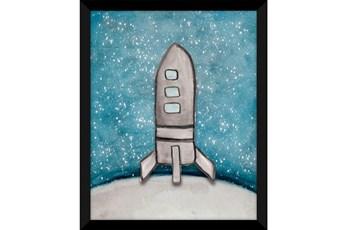Picture-Kids + Teen Galaxy Rocket Ship I 18X22