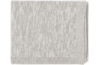 Accent Throw-Cotton And Lurex Grey