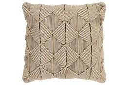 Accent Pillow-Macrame Diamonds Sage 20X20