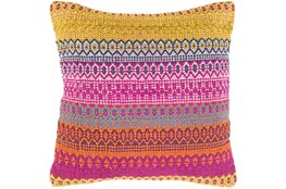 Accent Pillow-Retro Stripe Pink And Orange 20X20