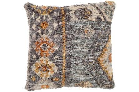 Accent Pillow-Shaggy Southwest Blue 18X18