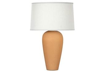 Table Lamp-Matte Honey Crackle