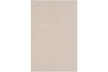 96X120 Outdoor Rug-Recycled Pet Herringbone Tan