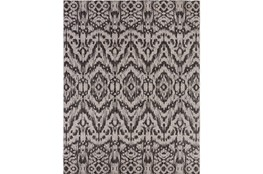 94X123 Outdoor Rug-Regal Ikat Black
