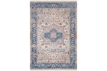 31X60 Rug-Tasha Traditional Blue