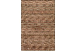 96X120 Rug-Roma Wool Brown