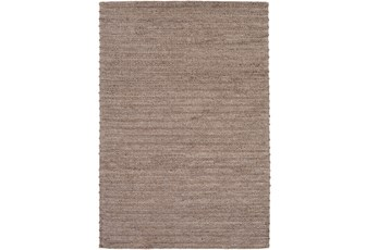 60X90 Rug-Braided Wool Blend Mushroom