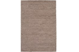 72X108 Rug-Braided Wool Blend Mushroom