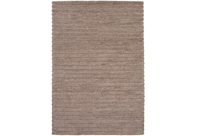 108X156 Rug-Braided Wool Blend Mushroom - 360