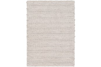 24X36 Rug-Braided Wool Blend Grey