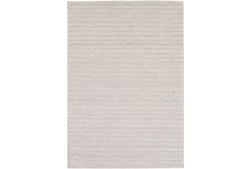 60X90 Rug-Braided Wool Blend Grey
