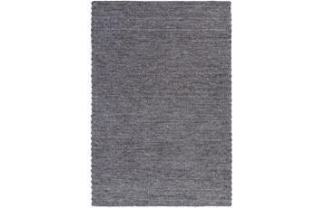 60X90 Rug-Braided Wool Blend Charcoal