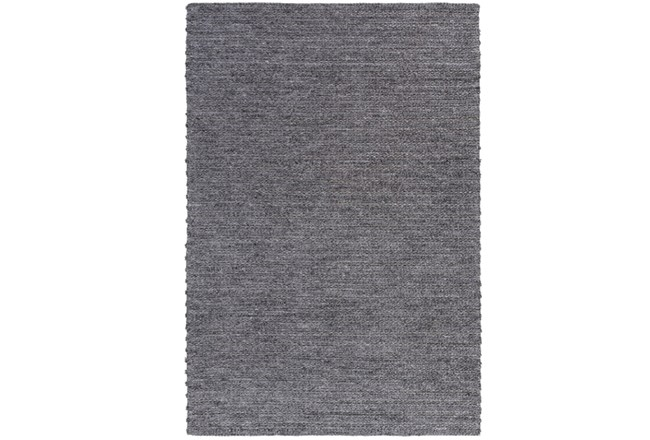 96X120 Rug-Braided Wool Blend Charcoal - 360