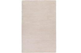 60X90 Rug-Braided Wool Blend Ivory