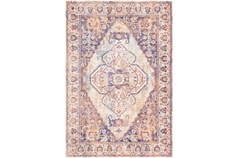 36X123 Rug-Gelson Denim Sunset