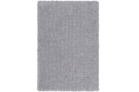 48X72 Rug-Plush Pile Light Grey
