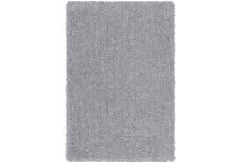 60X90 Rug-Plush Pile Light Grey