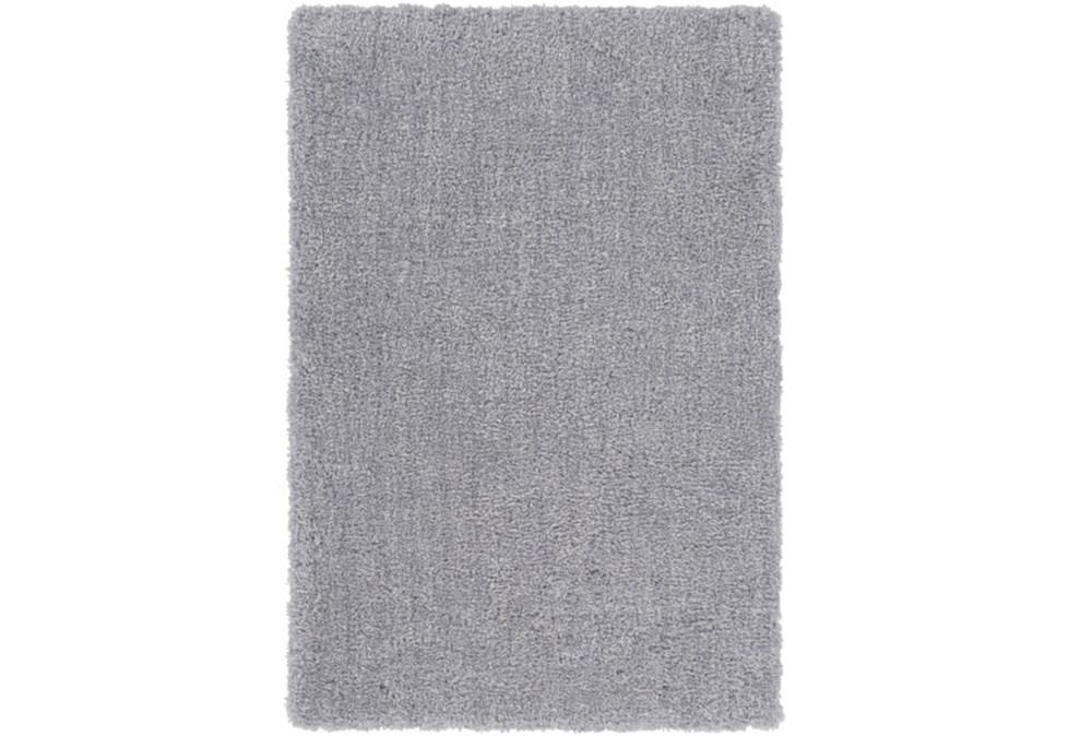 96X120 Rug-Plush Pile Light Grey
