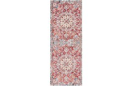 36X94 Rug-Cosmic Traditional Red