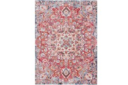 94X123 Rug-Cosmic Traditional Red