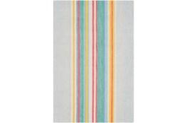 60X90 Rug-Wool Spring Stripe